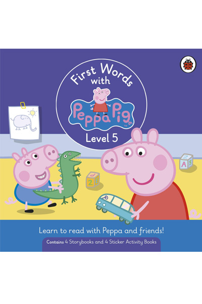 First Words with Peppa : Level 5 Box Set