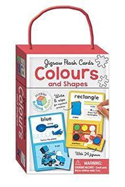 Jigsaw Flash Cards: Colours and Shapes: Building Blocks