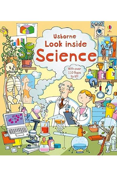 Usborne : Look Inside Science (Board Book)