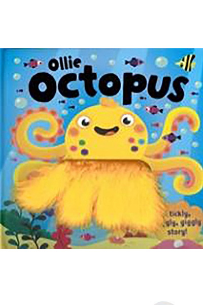 Ollie Octopus: A tickly, wiggly, giggly story! Board Book