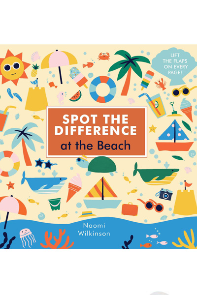 Spot the Difference: At the Beach - Board Book
