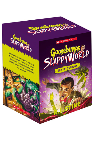 Goosebumps Slappy World Box of 7 Books