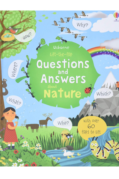 Lift-the-flap : Questions and Answers about Nature - Board Book