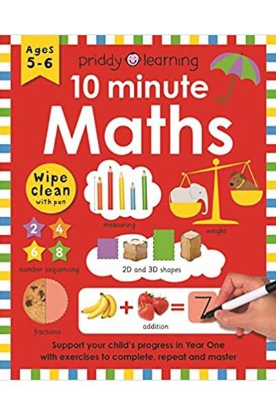Wipe Clean Workbooks : 10 Minute Maths