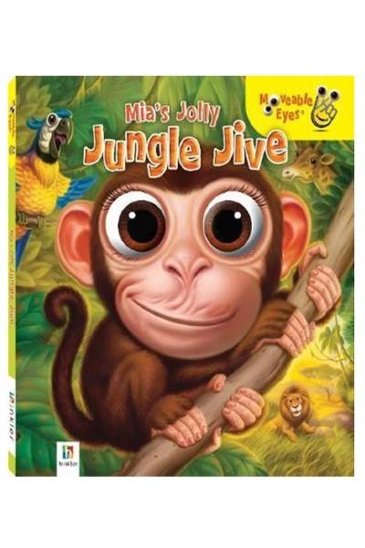 Moveable Eyes: Mia's Jolly Jungle Jive - Board Book