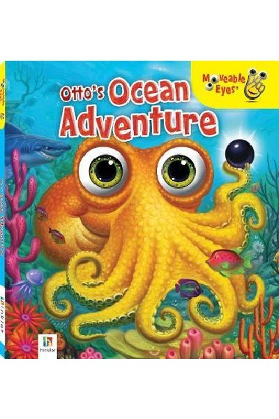 Moveable Eyes: Otto's Ocean Adventure - Board Book