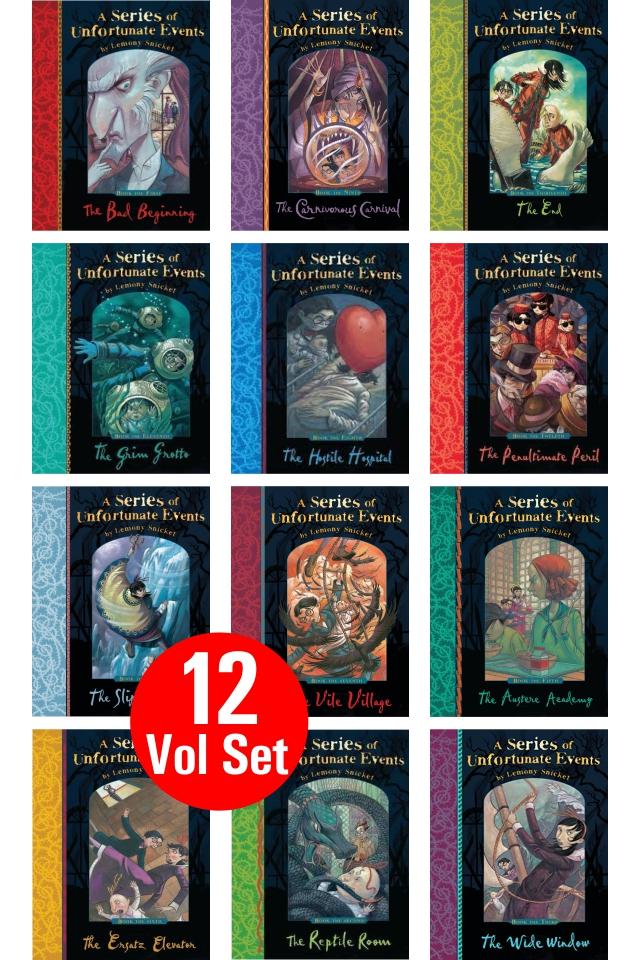 A Series of Unfortunate Events Series (12 Vol Set)