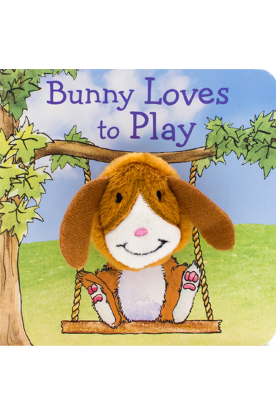 Bunny Loves to Play (Finger Puppets) Board book
