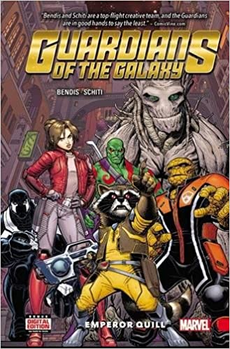 Guardians of The Galaxy : New Guard Emperor Quill # 1