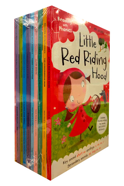 Reading With Phonics Fairy-Tale Collection (10 Vol Set)