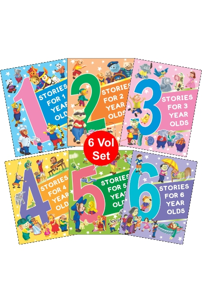 Stories for 1 to 6 Year Olds (6 volume set)