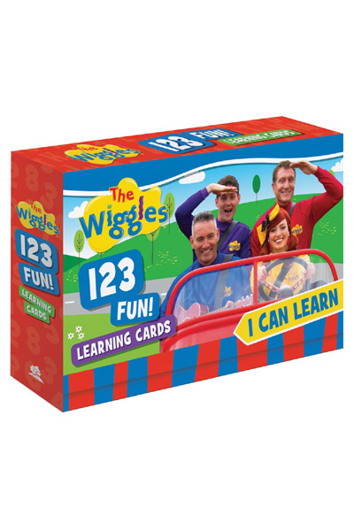 The Wiggles - I Can Learn 123 Fun! Learning Cards