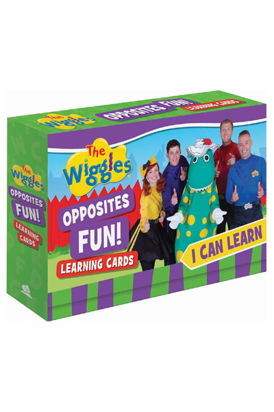 The Wiggles - I Can Learn Opposites Fun! Learning Cards