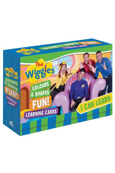 The Wiggles - I Can Learn Colours and Shapes Fun! Learning Cards