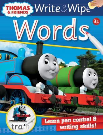 Thomas & Friends:Write & Wipe Series (4 Vol Set)