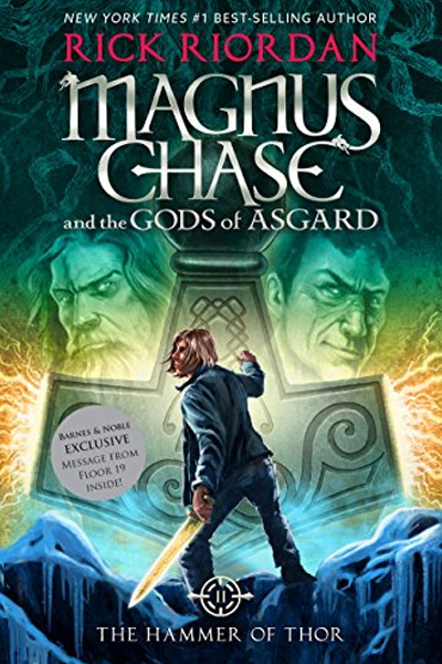 Magnus Chase And The Gods Of Asgard : Book 2 The Hammer Of Thor