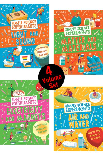 Simple Science Experiments Collection (4 Vol Set)