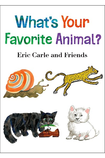 What's Your Favorite Animal?  (Board book)