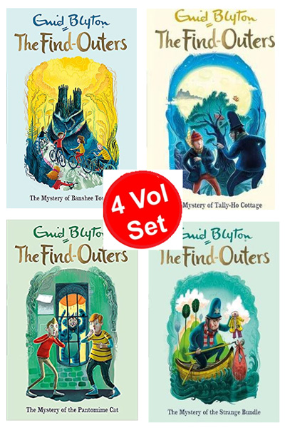 Enid Blyton: The Find-Outers Series (4 Vol Set)