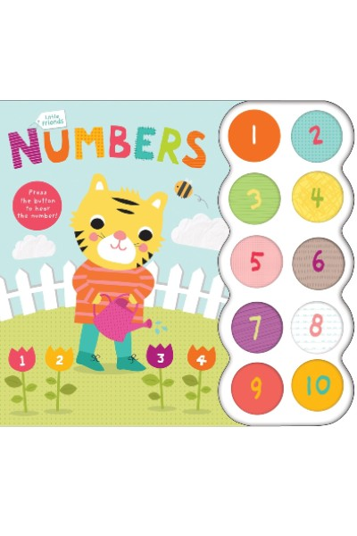 Little Friends: Numbers (Board Book with Sound)