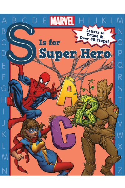 S is for Super Hero Board book