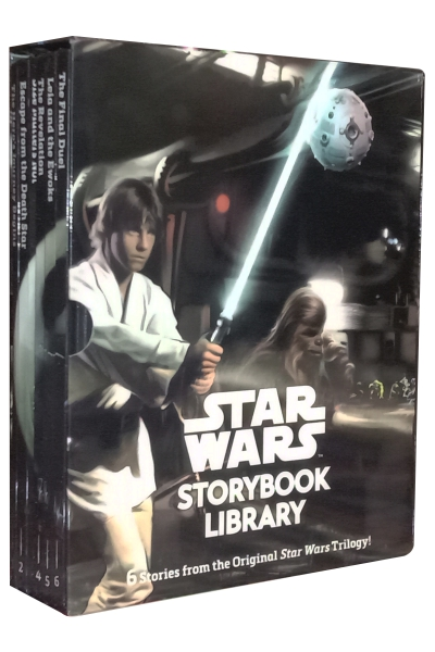 Star Wars Story Book Library (6 Vol. Set)