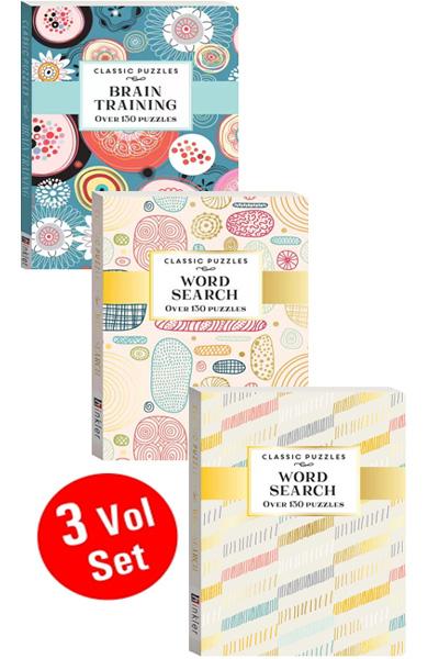 Classic Puzzles Series (3 Vol Set)