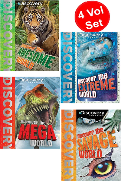 Mini Discovery Channel Series (4 Vol Set)