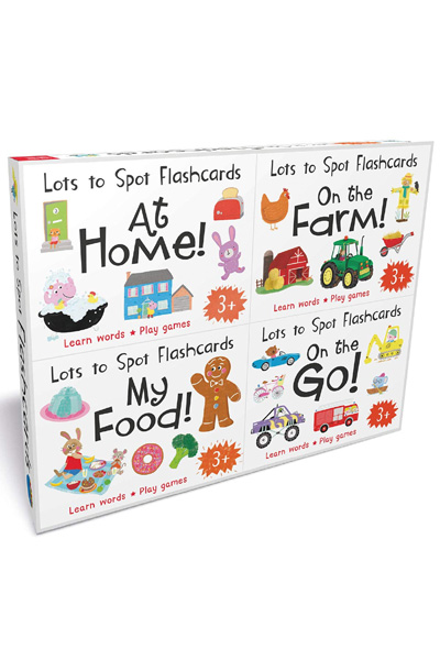 Lots to Spot Flashcards Tray – Learn Words By Playing Quick Games