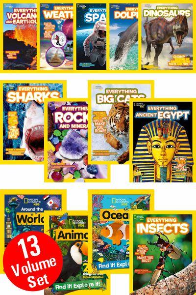National Geographic Kids Series (13 Vol Set)