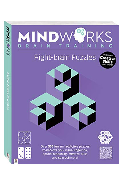 Mindworks Brain Training - Over 320 Right Brain Puzzles