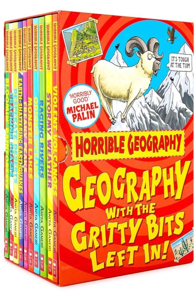 Horrible Geography : Geography with the Gritty Bits Left In!