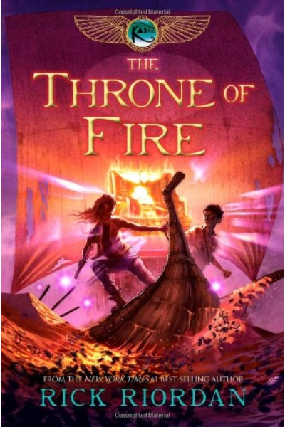 The Throne of Fire # 2