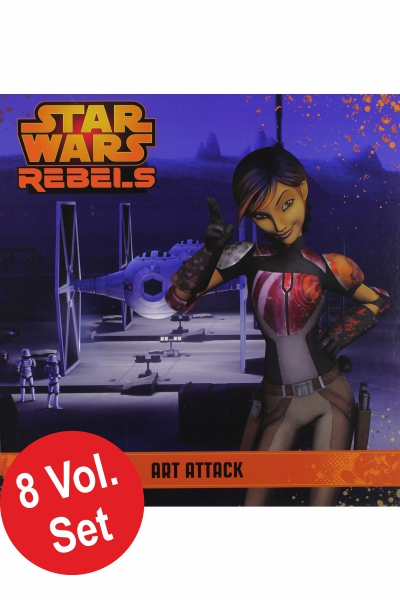 Star Wars: Rebels - Storybook Library (8 Vol Set)