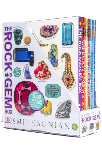 The Rock and Gem Box (10 Hardcover books set)