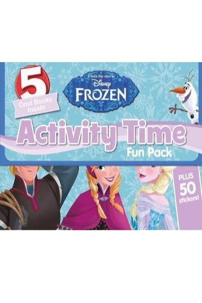 Disney Frozen Activity Time Fun Pack