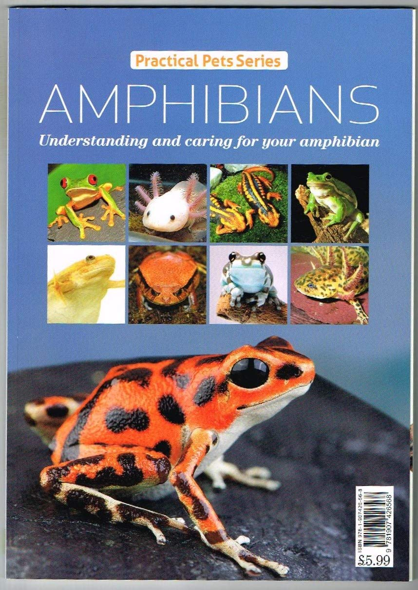 Amphibians:Practical Pets Series:Understanding and caring for your amphibian