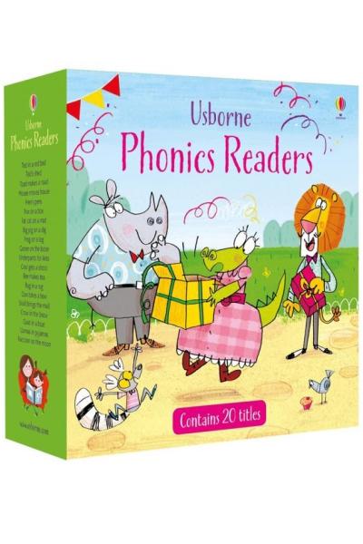 Usborne Phonics Readers (20 Vol Set)