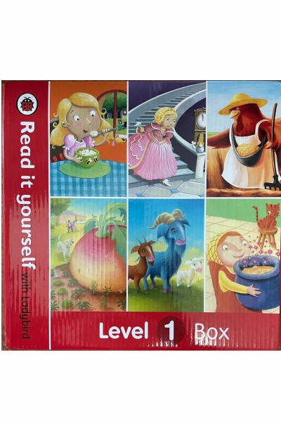 Read it Yourself with Ladybird : Level 1 Box