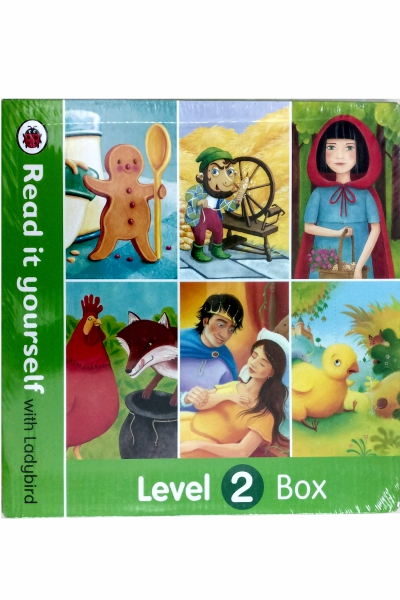Read it Yourself with Ladybird : Level 2 Box