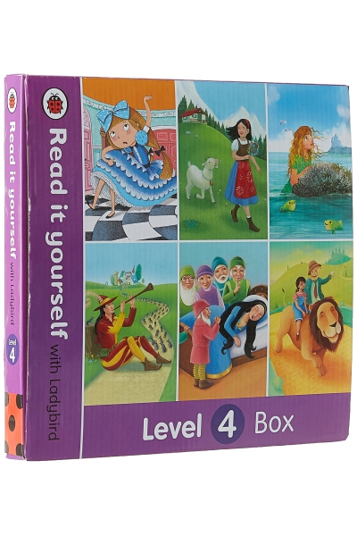 Read it Yourself with Ladybird : Level 4 Box