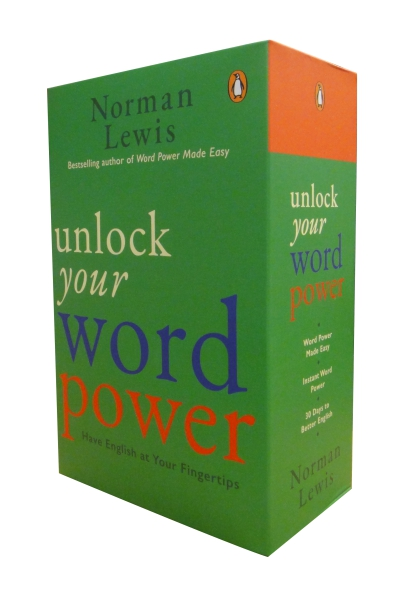 Unlock Your Word Power: Have English at Your Fingertips - Set of 3 books (Word Power Made easy + Instant Word Power + 30 Days to Better English)