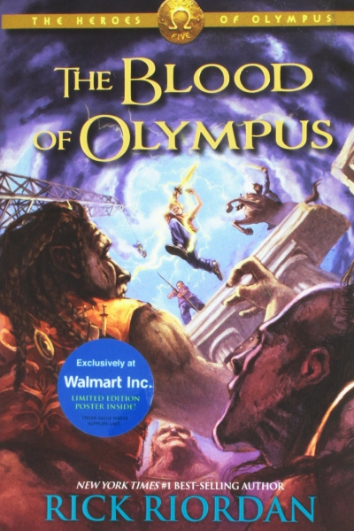 The Heroes of Olympus Book Five:The Blood of Olympus